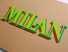James Lewis手绘3D字体作品欣赏
