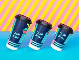 Cafe Buho咖啡品牌形象设计欣赏