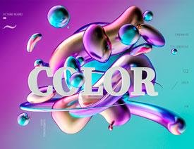 C4D详细解析立体渐变色3种表现方式