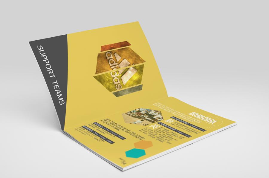 精美的阿迪达斯宣传画册设计欣赏