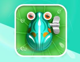 2017最新注册送白菜网绘制青蛙为主题风格的ICON图标