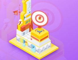 Illustrator绘制2.5D风格的游戏场景效果