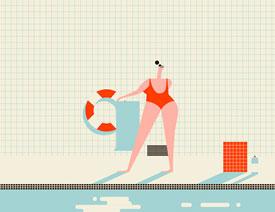 Illustrator绘制复古风格的扁平化插画