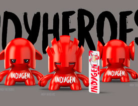 Indygen通信企业品牌形象设计欣赏