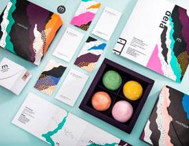 Mochiice冰淇淋品牌视觉设计欣赏