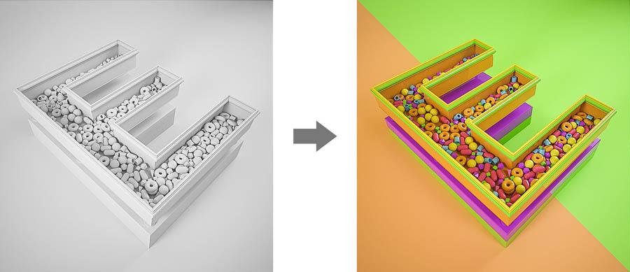 通过图片的简单配色讲解设计配色技巧,PS教程,思缘教程网