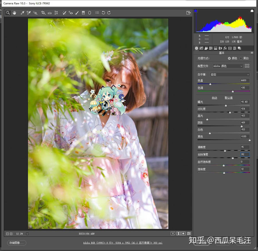 Photoshop调出夏季外景人像清新通透效果,PS教程,思缘教程网