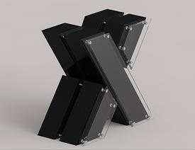 C4D制作挤压特效的3D艺术字教程