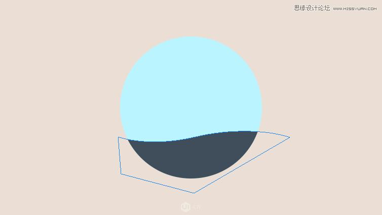 photoshop设计立体插画风格的圆形图标