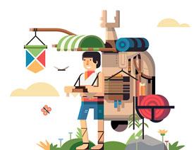 Illustrator绘制塞尔达传说角色插画