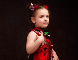 详细解析简洁风格的欧式儿童摄影