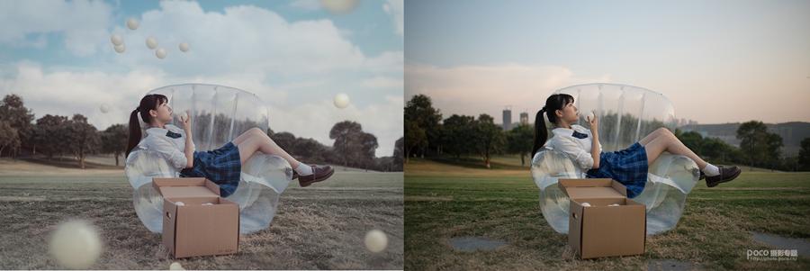 Photoshop解析悬浮元素在合成中的使用,PS教程,思缘教程网