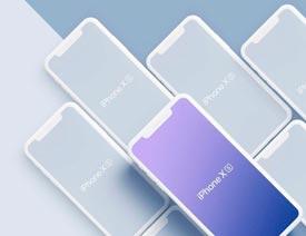 最新款的iPhone XS系列展示模板
