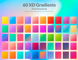 800多套各种色系的PS渐变免费下载