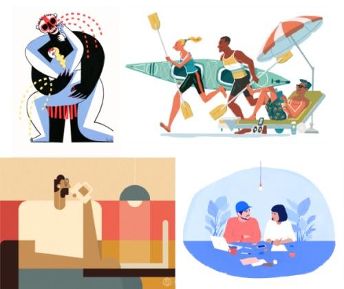 多种方法快速掌握不同的插画风格,PS教程,思缘教程网