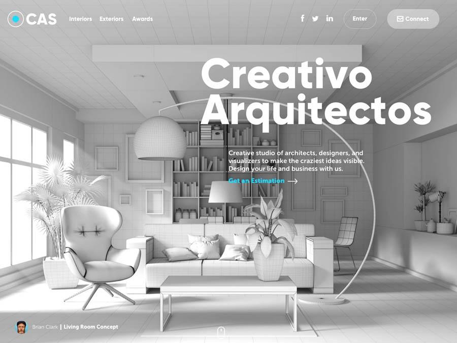 实例分析9款惊艳的网页设计作品,PS教程,思缘教程网