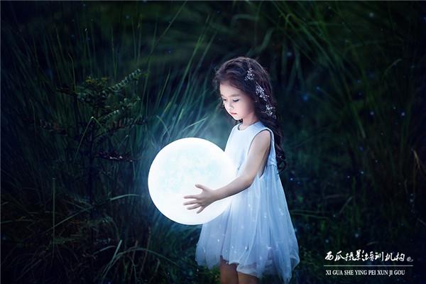 超唯美可爱的小仙女儿童写真作品