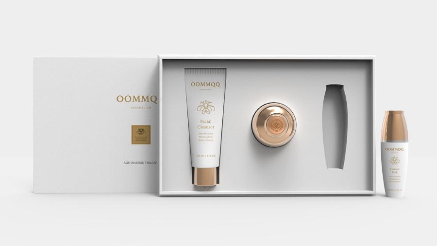 OOMMQQ澳密泉化妆品包装设计欣赏,PS教程,思缘教程网