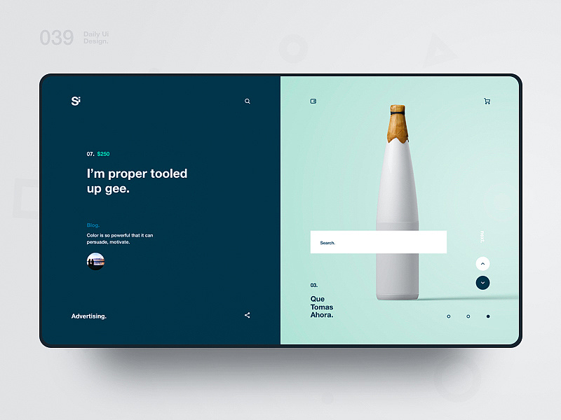 设计师解读哪些设计手法增加板式活跃度,PS教程,思缘教程网