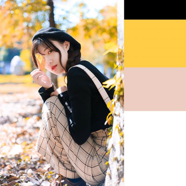 摄影师如何排除秋季暖黄色人像效果,PS教程,思缘教程网