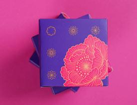 Moon Cake花月夜茶叶包装设计欣赏