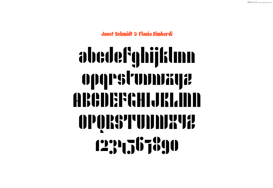 TYPEKIT宣布包豪斯风格的字体分享,PS教程,思缘教程网