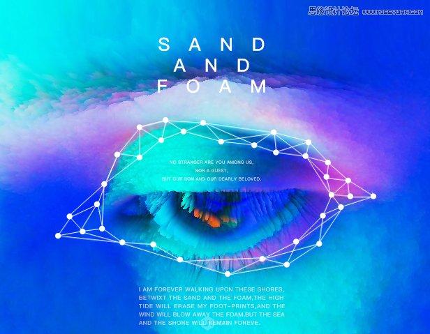立体海报:巧用PS的3D功能制作立体海报,PS教程,思缘教程网