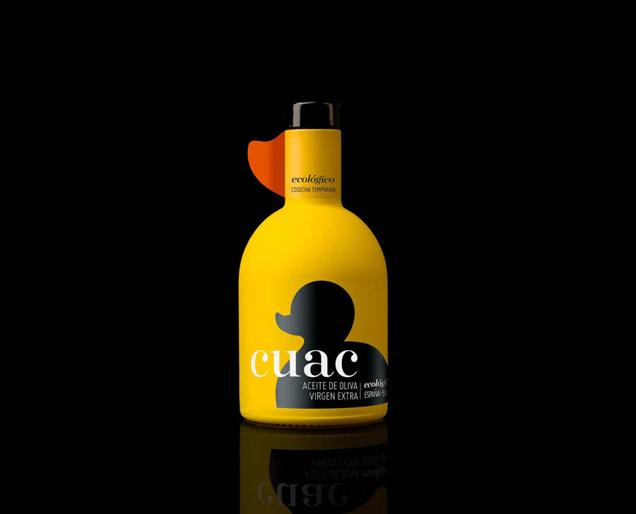 CUAC AOVE橄榄油包装设计欣赏,PS教程,思缘教程网
