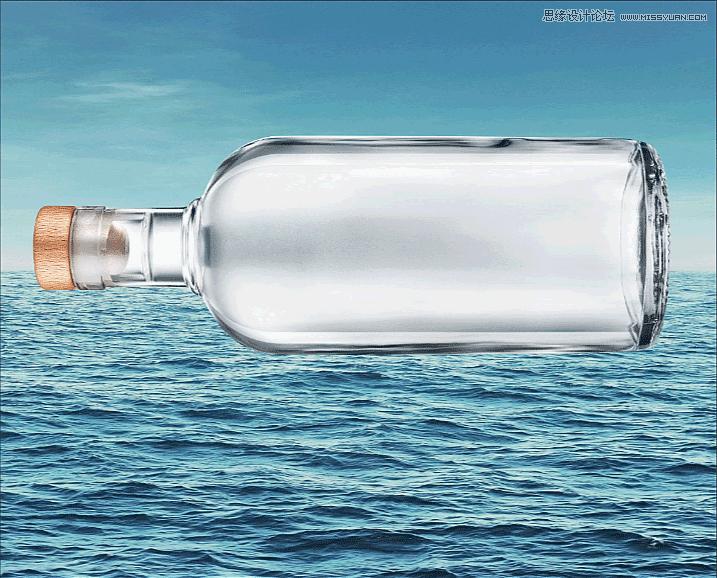 加勒比海盗:PS合成漂流瓶在的海盗船,PS教程,思缘教程网