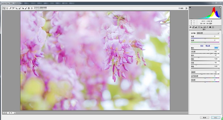 粉色花朵:PS调出外景花朵粉色主题效果,PS教程,思缘教程网