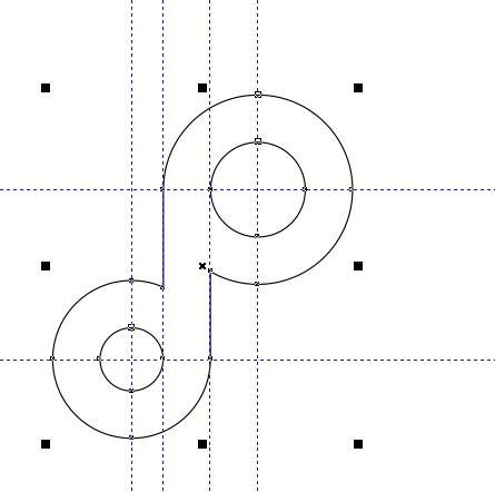 抖音LOGO:CDR绘制抖音APP图标,PS教程,思缘教程网