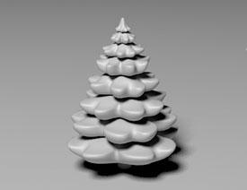 C4D实例教程:详解树木建模教程