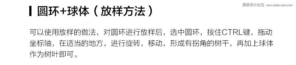 "C4D实例教程:详解树木建模教程,PS教程   width=""960"" height=""131"" src=""http://www.missyuan.net/uploads/allimg/190215/1450215039-8.jpg"" /></p><img alt="