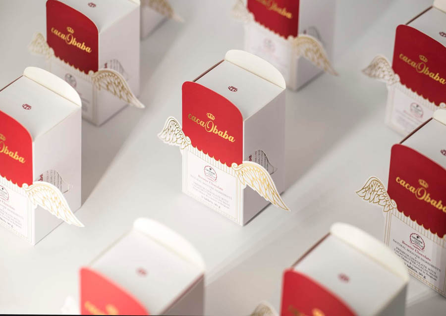 cacaobaba巧克力包裝設計欣賞
