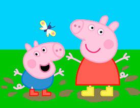 佩奇插画:用AI绘制卡通风格的小猪佩奇