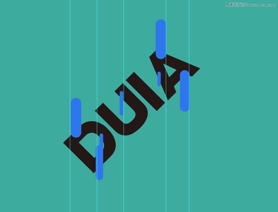 融化字体:用PS制作融化特效的艺术字,PS教程,思缘教程网