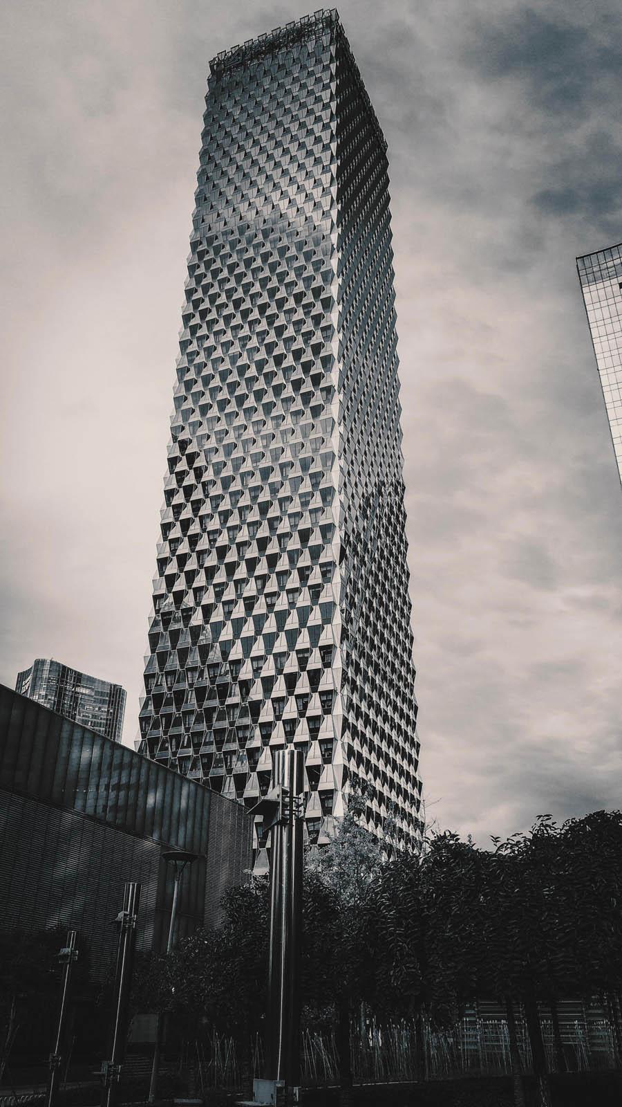 立体建筑:用PS制作3D立柱风格的高楼大厦,PS教程,思缘教程网