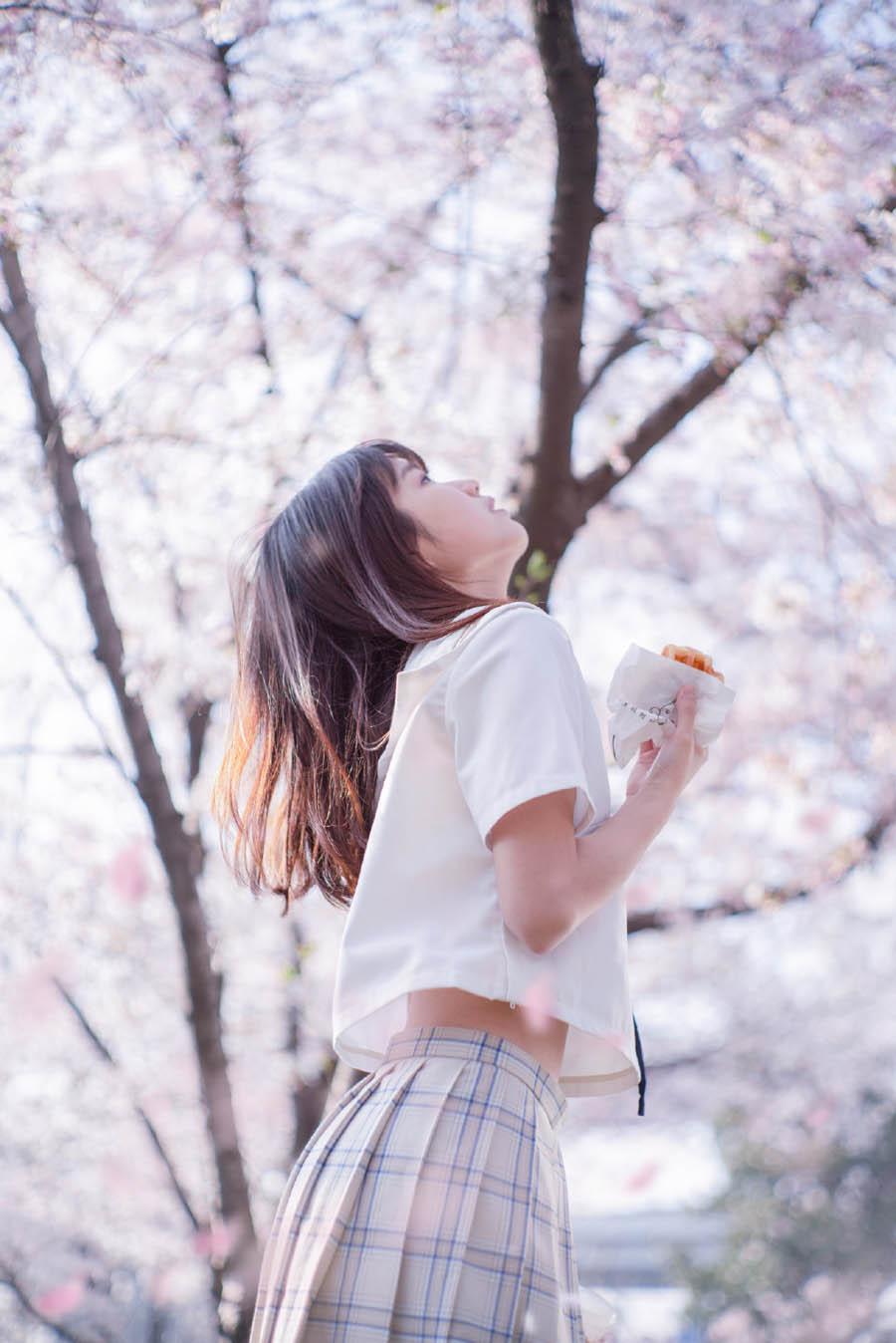 樱花调色:用PS调出樱花人像清新甜美效果,PS教程,思缘教程网