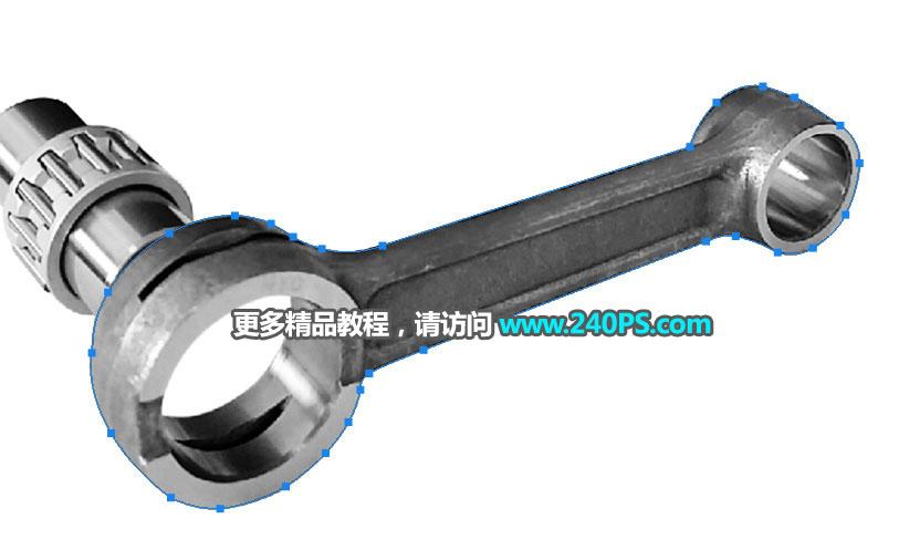 产品修图:用PS精修复杂的金属配件产品,PS教程,思缘教程网