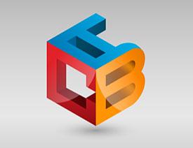 标志设计:用AI制作2.5D风格的LOGO图标