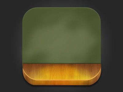 黑板图标:用PS绘制小黑板应用图标,PS教程,思缘教程网