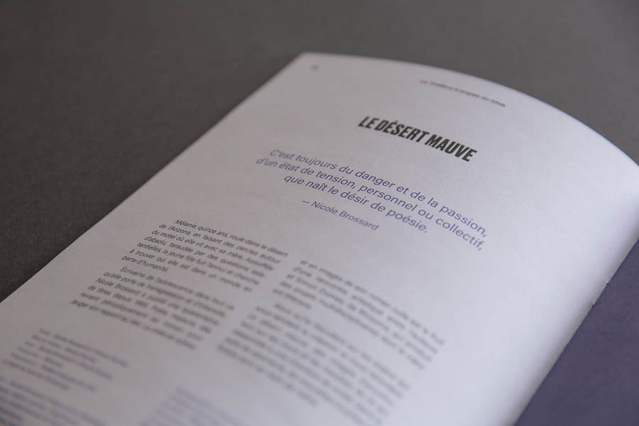 国家艺术中心法国剧院画册设计欣赏,PS教程,思缘教程网