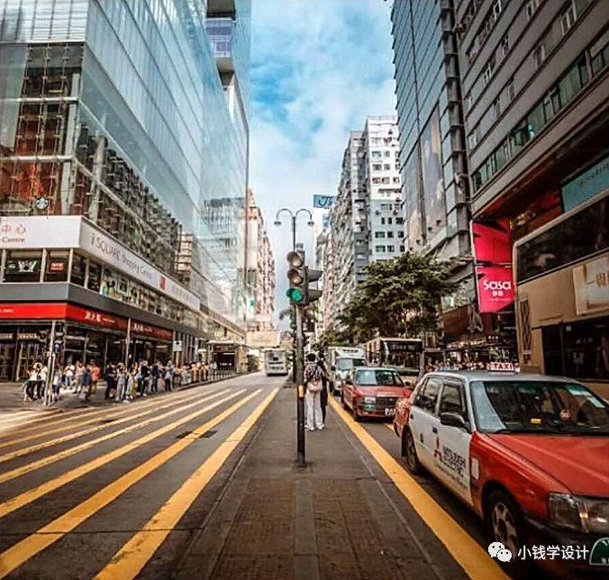Photoshop制作复古风格的城市街道